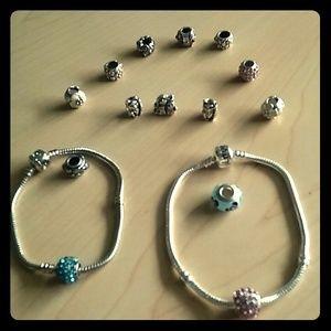 Jewelry - Charm Bracelets Duo